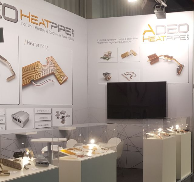 ADEO embedded messe elinter heatpipe heizfolie
