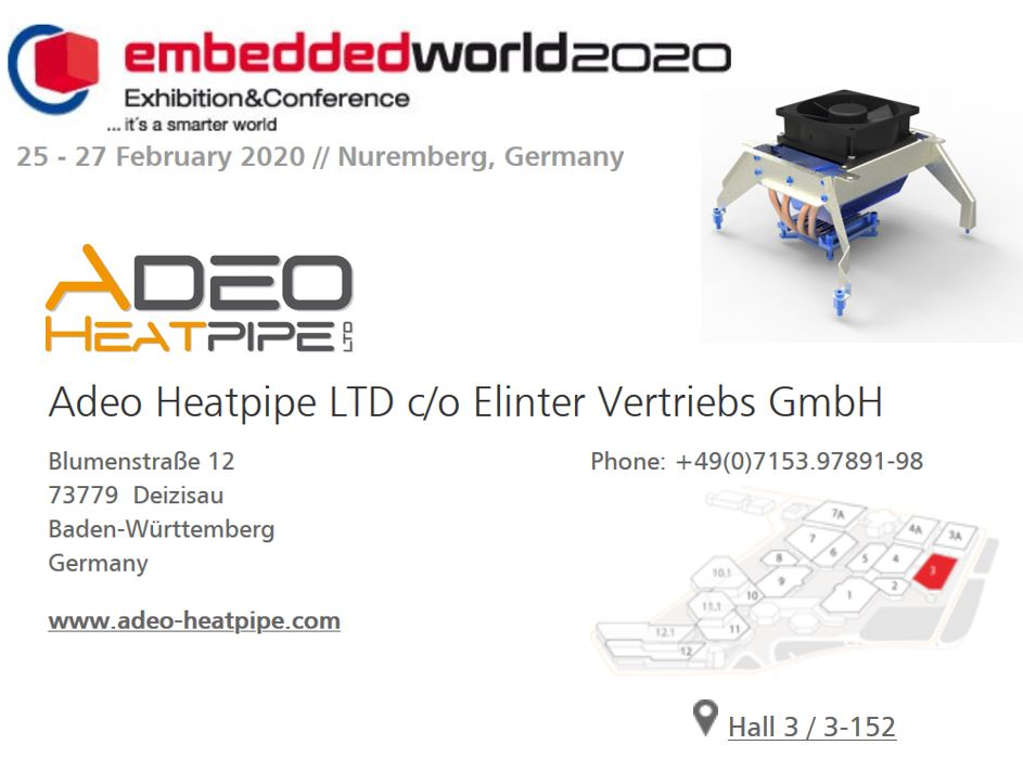 NEWS: Exhibition Embedded World  25.02.to 27.02.2020