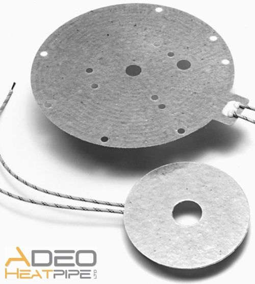 ADEO MICA heater foil high voltage temperature custom made shape